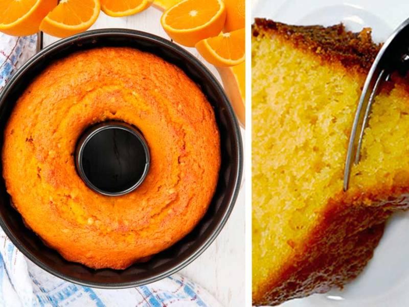 Το πιο Εύκολο και Ελαφρύ κέικ Πορτοκαλιού