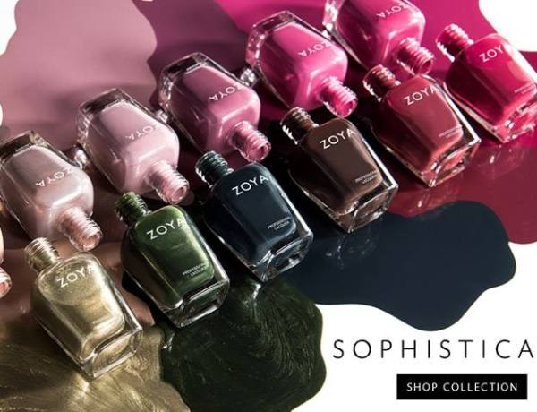 Zoya Sophisticates CollectionΦθινόπωρο 2017