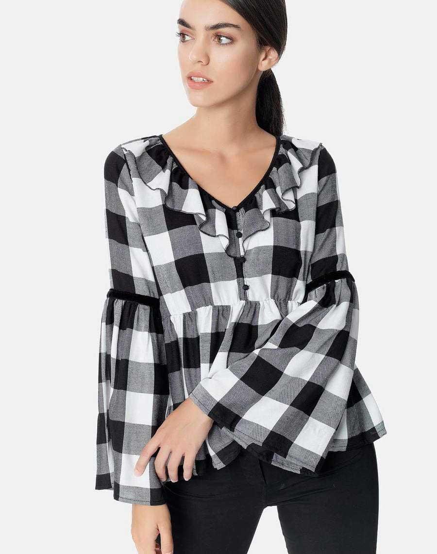 Καρό μπλούζα - αγορά