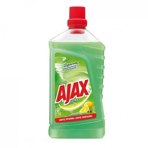 υγρό γενικής χρήσης ΑJΑΧ με άρωμα λεμόνι