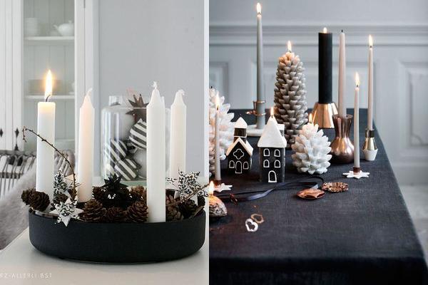 elegant διακόσμηση Χριστουγέννων