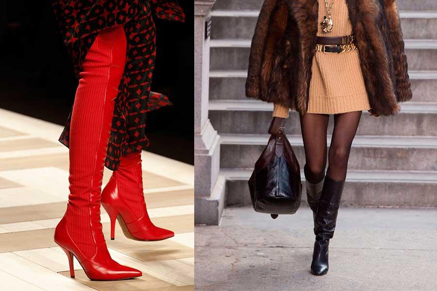 Μπότες 2018: πως θα τις φορέσεις με Φορέματα και Φούστες