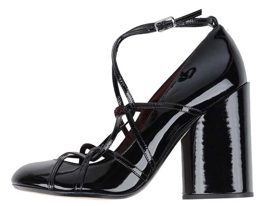 Παπούτσια χειμώνας 2017-2018 block heels