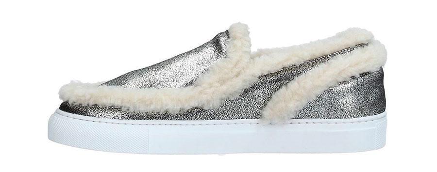 Παπούτσια χειμώνας 2017-2018 στάμπες και υλικά