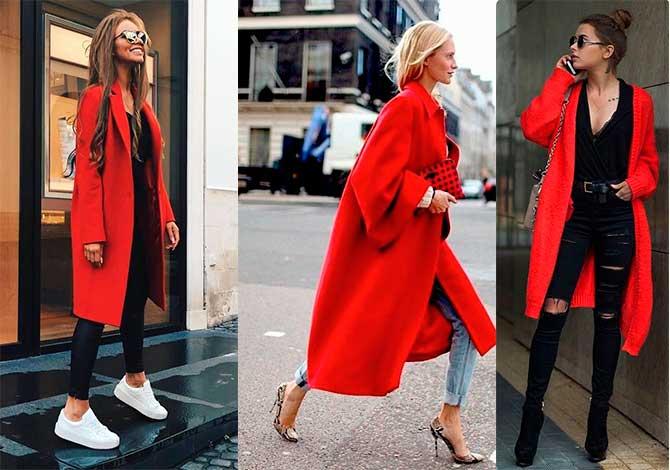 Πως να φορέσεις κόκκινο παλτό