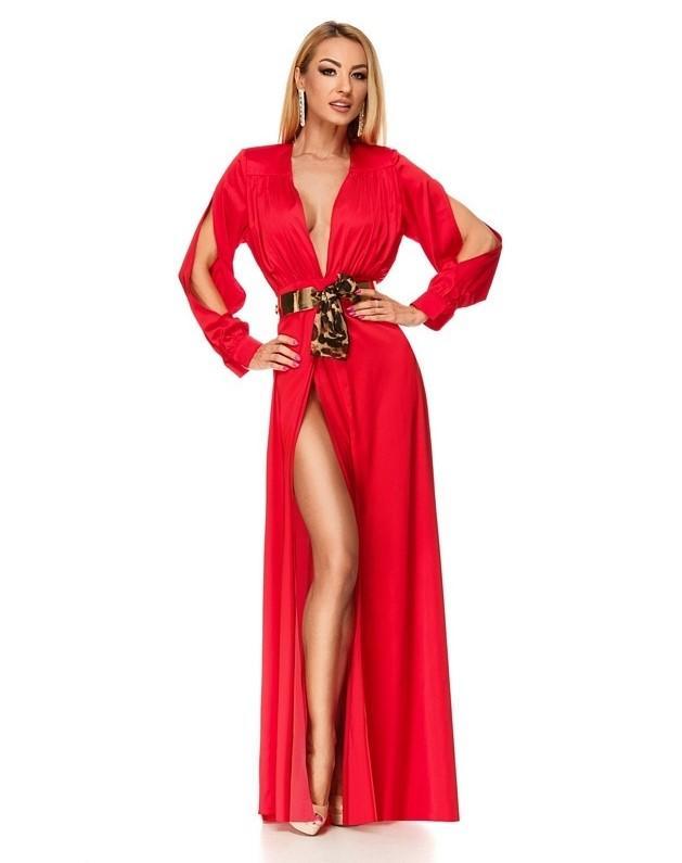 Τι να Φορέσω στο Ρεβεγιόν 2018 κόκκινο φόρεμα