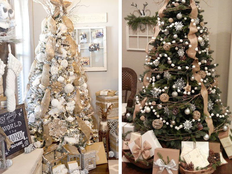 στολισμένα Χριστουγεννιάτικα δέντρα 2018