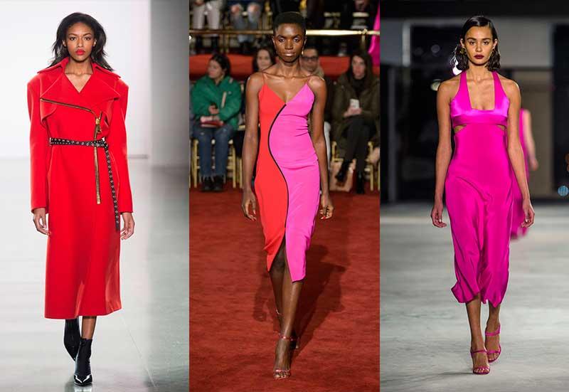 τάσεις μόδας χειμώνας 2019 χρώμα
