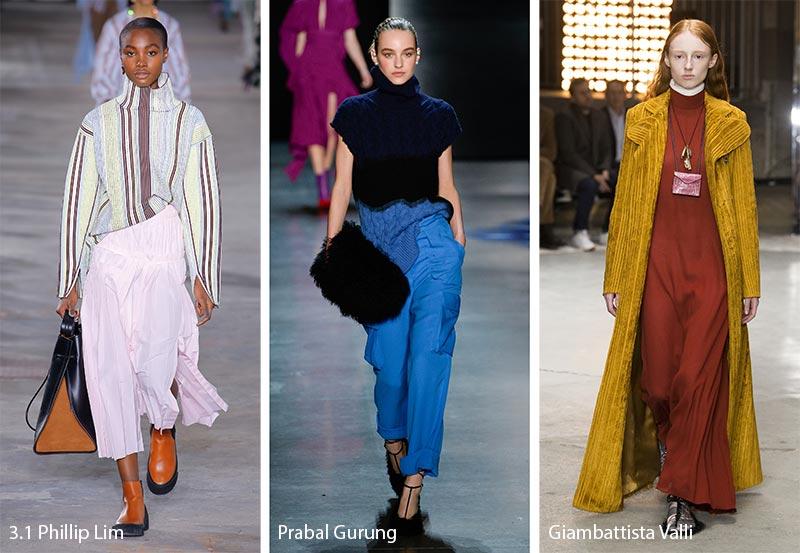 τάσεις μόδας φθινόπωρο 2018 ζιβάγκο