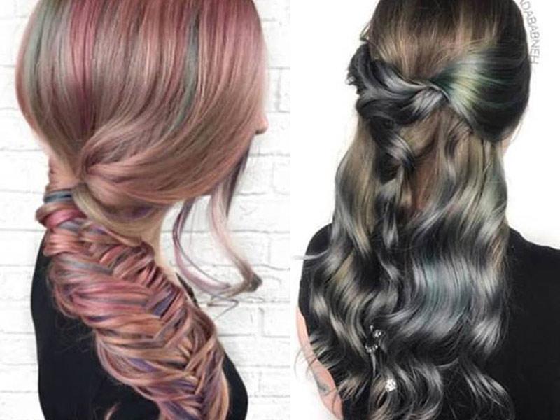 χρώματα μαλλιών 2019
