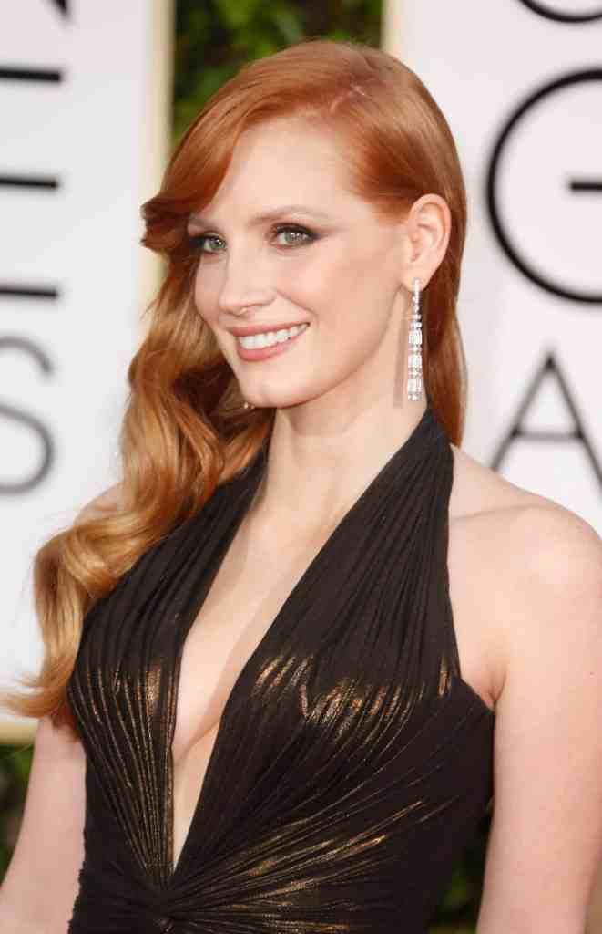 Jessica Chastain - 2015 Golden Globes