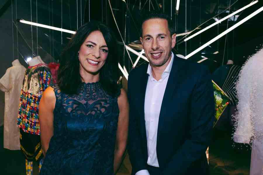 Target General Manager Gillian Ridley Whittle & VAMFF CEO Graeme Lewsey