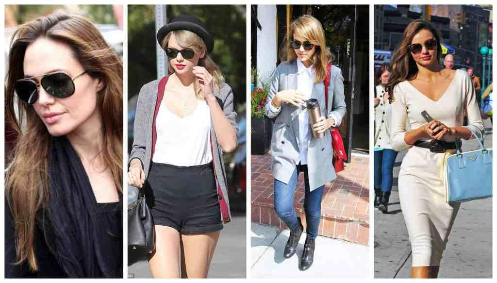 celebrity sunglasses angelina taylor swift Jessica alba miranda kerr