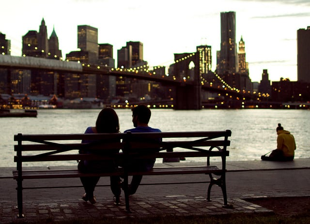 couple date night city