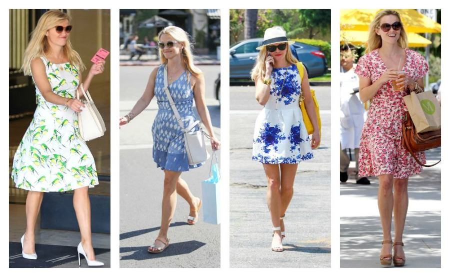 Reese Witherspoon summer dresses