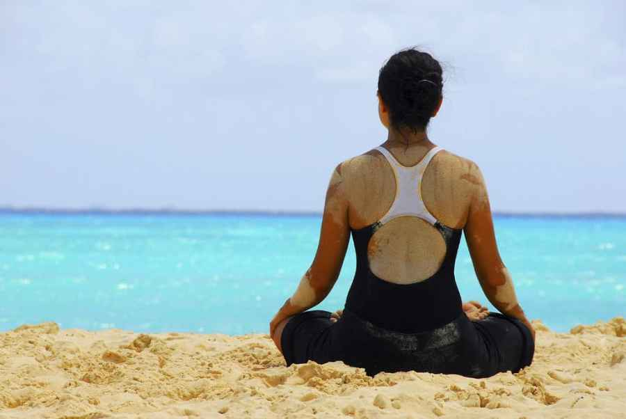 yoga lady health illness