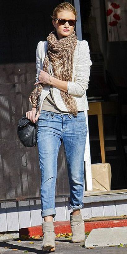 boyfriend jeans and boots