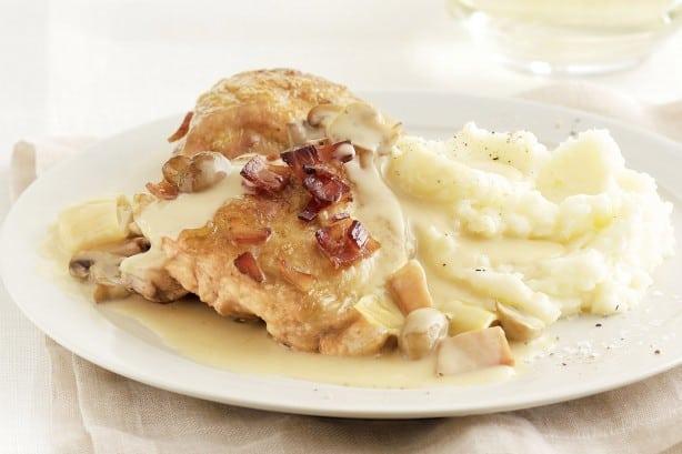 chicken-leek-and-mushroom-casserole