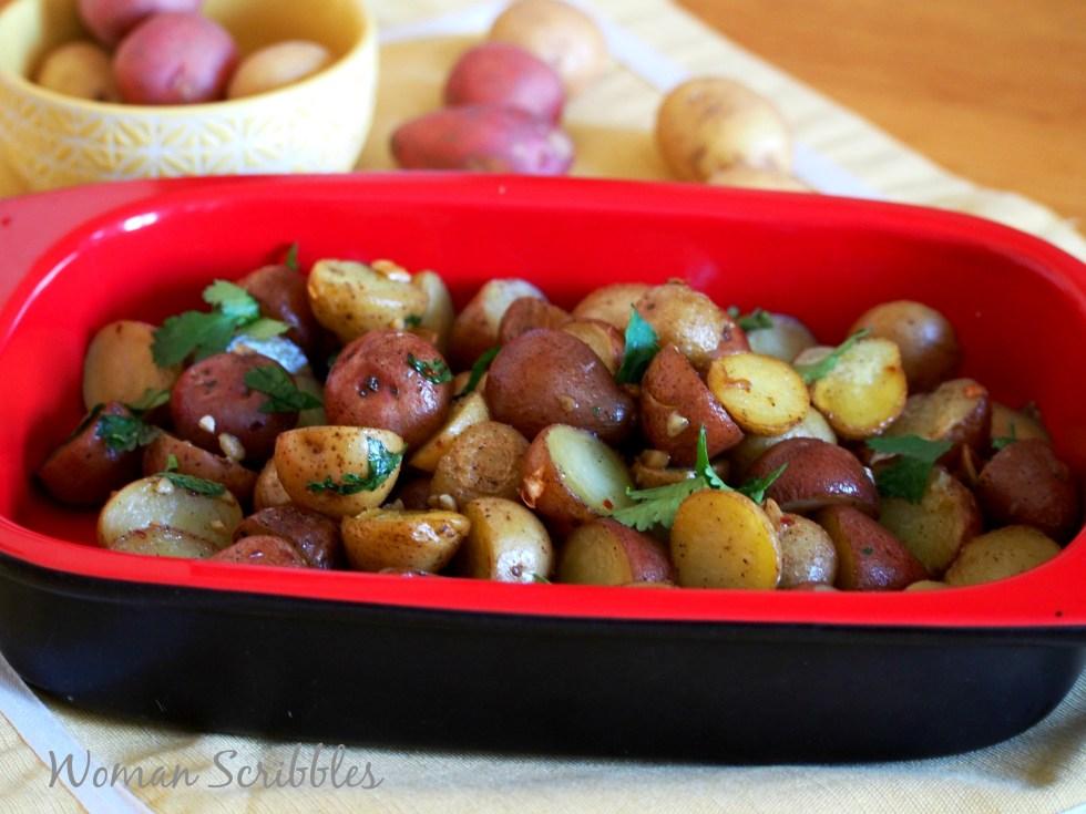Roasted Mini Potatoes