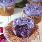 recipe ube cupcakes