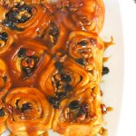 Sticky Buns with Pecans and Rum Raisins