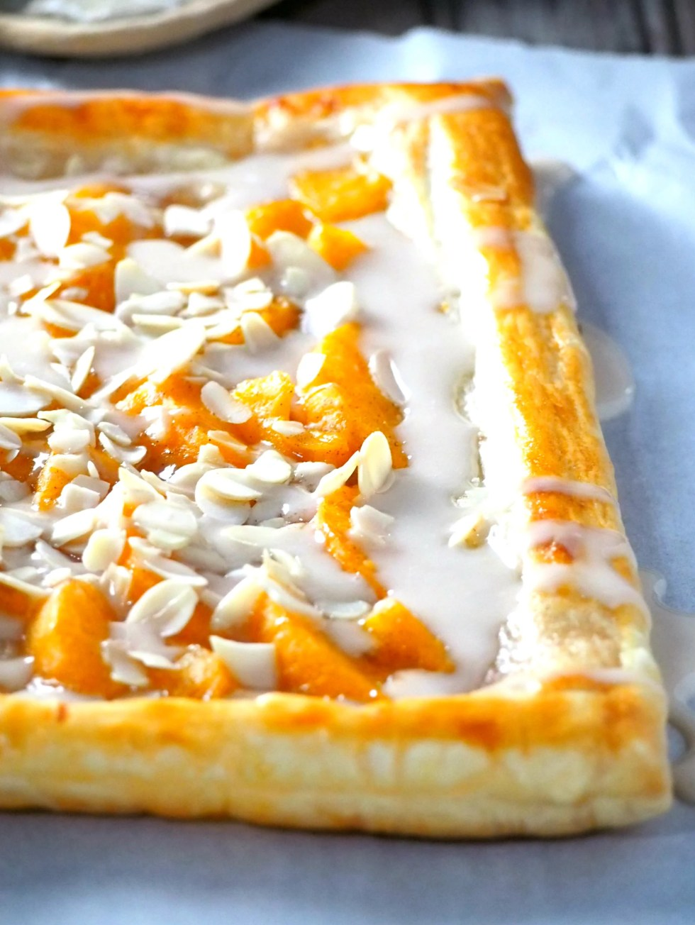 A simple but delicious dessert, you can make this Peach tart in no time and still yield an elegant and delicious pastry. Add this easy peach dessert to your list of quick dessert recipes and you are sure to make this over and over again.