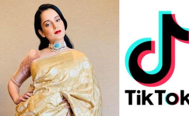 Kangana Ranaut Responds On Tiktok Ban In India Better We