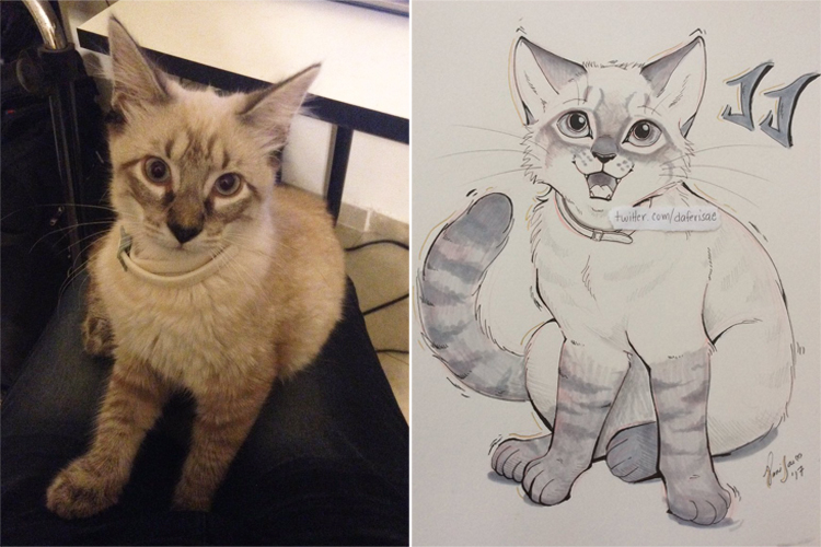Cute Animal Drawings That Look Like Real Pets