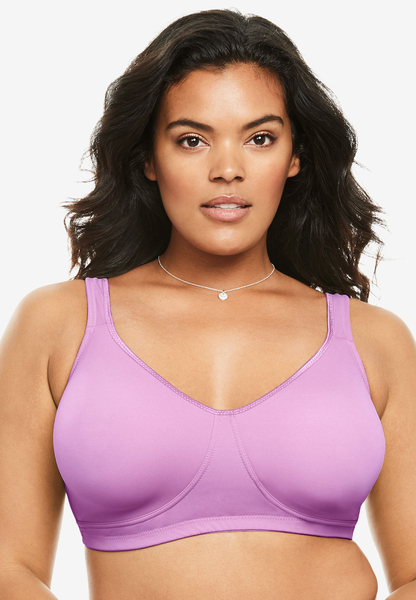 Wireless bra by comfort choice also plus size bras with large cup sizes woman within rh womanwithin
