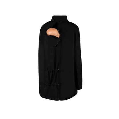 Bandicoot Mens Babywearing Jacket Black front