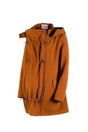 babywearing softshell jacket caramel