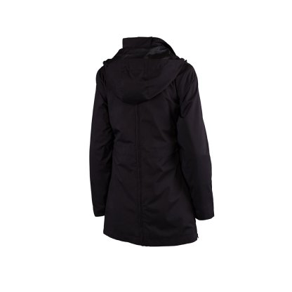 Numbat Black Maternity and Babywearing Jacket with detachable collar