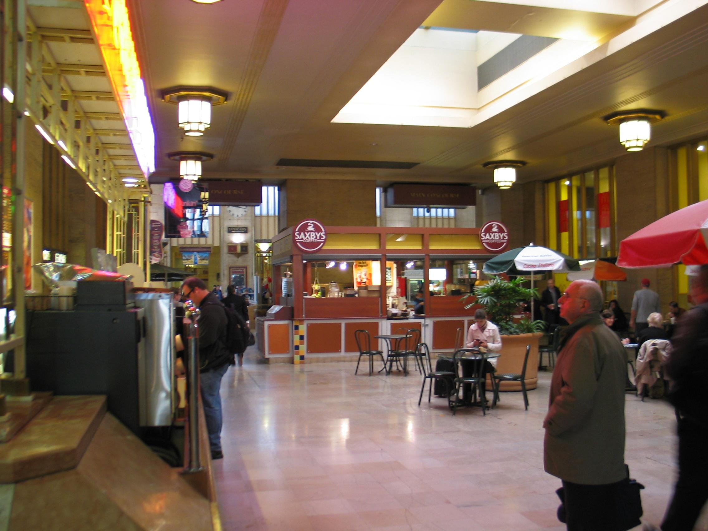 Th Street Train Station Food Court