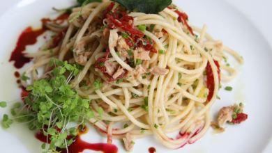 ספגטי טונה בלימון