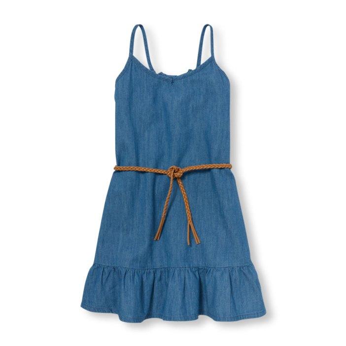 שמלת ג'ינס לבנות