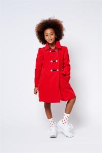 מעיל אדום לבנות סולוג