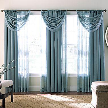וילון כחול לסלון או לחדר שינה