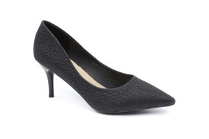 נעל עקב שחורה נוצצת לערב הזוהר של השנה - SCOOP