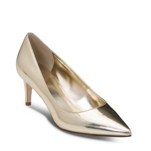 נעל עקב מוזהבת של ניין ווסט מקולקציית GLAM UP
