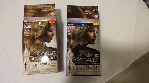 צבע השיער COLOR SPECIALIST של שוורצקופף