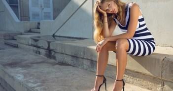 אסתי גינצבורג בשמלת קיץ של גולברי