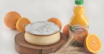 עוגת גבינה בניחוח הדרים פרימור