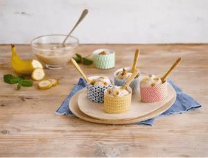 גלידה בננה ותמרים של אלפרו