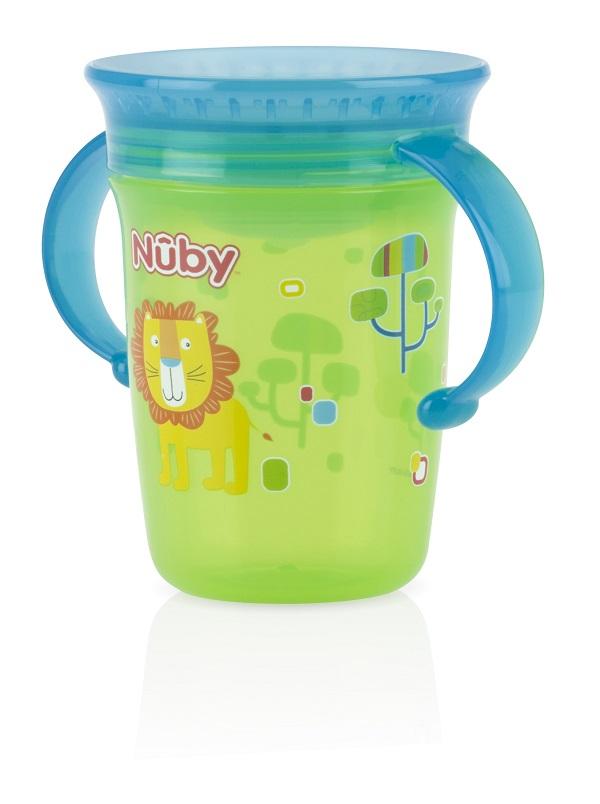 כוס הפלא של NUBY כולל ידית אחיזה