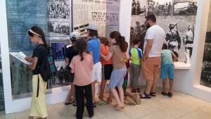ביקור במוזיאון 'חומה ומגדל' חניתה בחגי תשרי