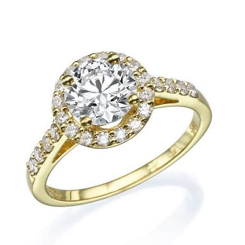 טבעת יהלום - דגם מיטל של יהלומי הבורסה