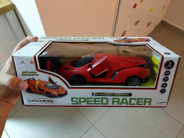 מכונית מדגם SPEED RACER של המותג משינה - מכונית על שלט לילדים