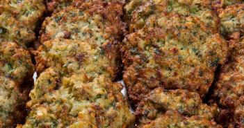ערוק - מתכון לקציצות ירק עם עוף