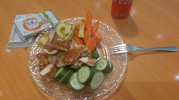 קרקר FITNESS לארוחת צהריים