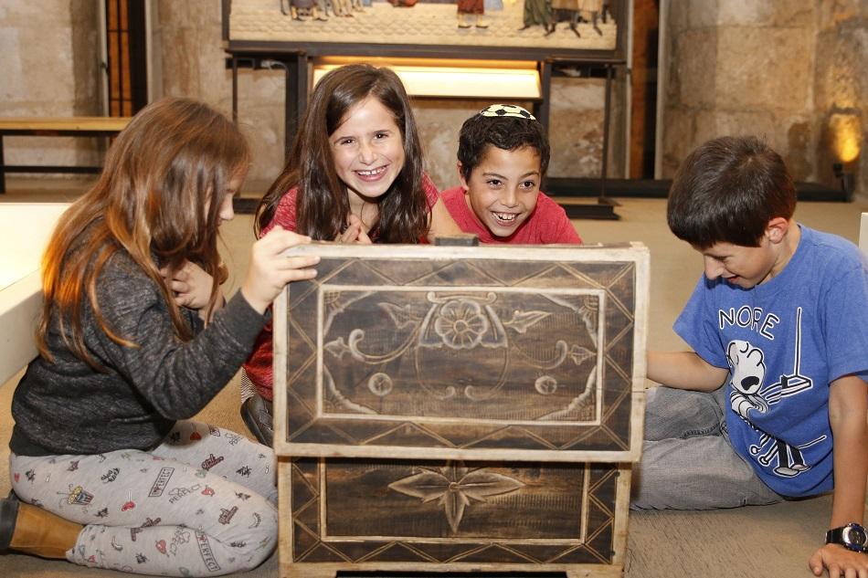 תעלומת האוצר האבוד במוזיאון מגדל דוד